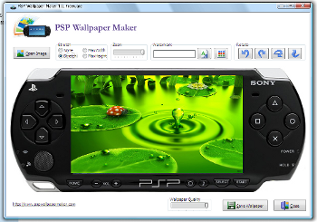 PSP Wallpaper Maker
