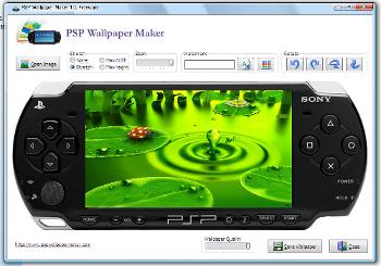 PSP Wallpaper Maker