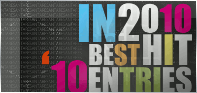 Best 10 Entries in 2010