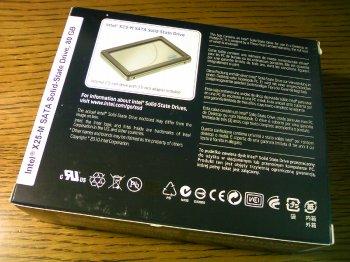 intel SSD 80GB