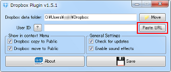 Dropbox Plugin