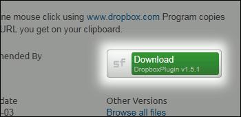 Dropbox Plugin ダウンロード