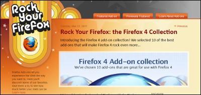 Firefox 4 ベスト10アドオン