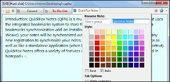 QuickFox Notes