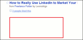 Remove Ad from Google Reader