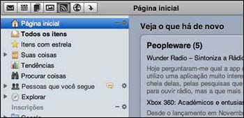 Google Reader for Snow Leopard