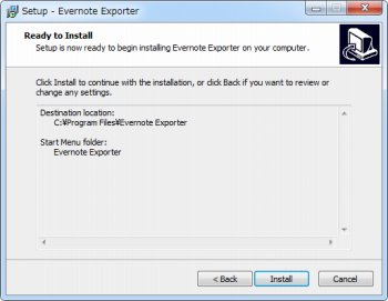 Evernote Exporter