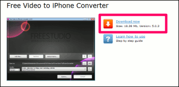 Free Video to iPhone Converter ダウンロード