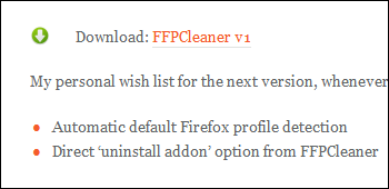 Firefox Prefs.js Cleaner ダウンロード
