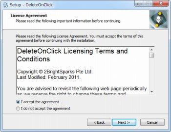 DeleteOnClick
