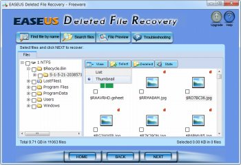 EASEUS Deleted File Recovery