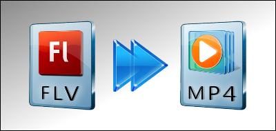 FLVをMP4に変換