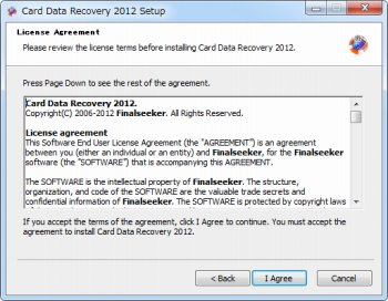 FinalSeeker Card Data Recovery