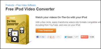 Free iPod Video Converter ダウンロード
