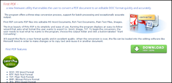 First PDF ダウンロード