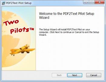 PDF2Text Pilot