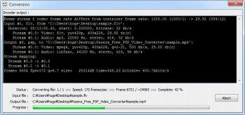 Pazera Free PSP Video Converter