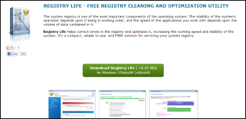 Registry Life ダウンロード