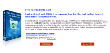 Recovery Toolbox File Undelete Free ダウンロード